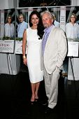 EAST HAMPTON, NEW YORK-JULY 6: Actors Michael Douglas (R) and Catherine Zeta-Jones attend the premie