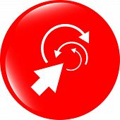 Abstract Arrow Sign Icon. Arrows Symbol. Icon For App. Web Button
