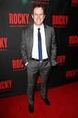 NEW YORK-MAR 13: Musical director David Holcenberg attends the 'Rocky' Broadway opening night after