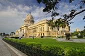 HAVANA, CUBA - JULY 9, 2010. National Capitol building, seat of government in Cuba until 1959, now t