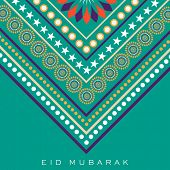 foto of ramazan mubarak card  - Stylish floral decorated abstract background - JPG