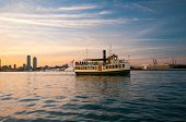 TORONTO, CANADA - JUNE 7, 2014: A ferry named