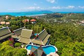 Panoramic View of Koh Samui Thailand