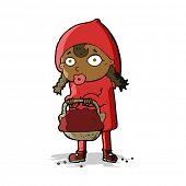 foto of little red riding hood  - little red riding hood cartoon - JPG