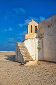 Church Of Our Lady Of Grace  At Sagres Fortress,algarve, Portugal