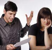 Mad upset at credit card debt