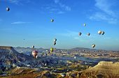 Hot air balloon fly over Cappadocia