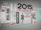 Holidays word jumble against grey vignette
