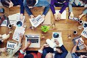 Marketing Analysis Accounting Team Teamwork Business Meeting Concept