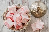 Rose Flavoured Turkish Delight