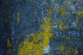 dark texture of old plaster