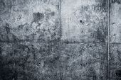 Grungy And Smooth Bare Concrete Wall