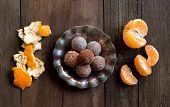 Chocolate Truffles And Tangerines