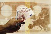 A handful of Euro
