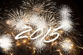 Happy New Year 2015 - fireworks