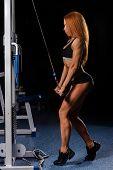 Redhead Girl In A Gym