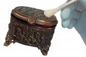 Copper Old Jewelry Box