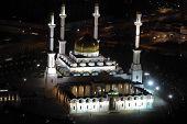 Nur Astana - The Central Mosque In Astana, Kazakhstan.