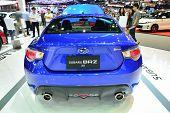 Nonthaburi - December 1: Subaru Brz 2.0 Car Display At Thailand International Motor Expo On December
