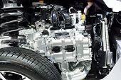 Nonthaburi - December 1: Section Cut Of Subaru Frorester 2.0 Xt Car Display At Thailand Internationa