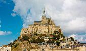 image of mont saint michel  - Le Mont Saint Michel are beautiful Abbey  - JPG