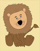 Cartoon-Toy Lion