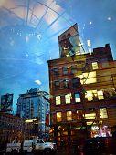 City Reflections At Night