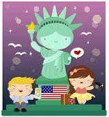 the Statue represent Liberty