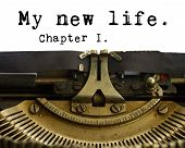 My new life words