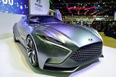 Nonthaburi - December 1: Hyundai Hnd-9 Concept Car Display At Thailand International Motor Expo On D