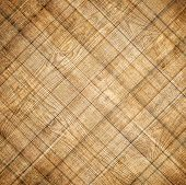 Illustration background of brown old natural wood planks Dark aged empty rural room with tree floor pattern texture Closeup gold view surface of retro pine red logs inside vintage light warm interior
