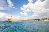Harbor Of Old Town Chania