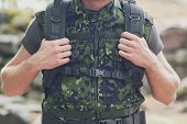 picture of army soldier  - war - JPG