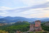foto of rocking  - The Belogradchik Rocks at sunset Bulgaria - JPG