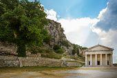 pic of greek-island  - Old byzantine fortress on the Greek island of Corfu  - JPG