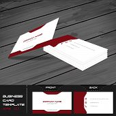 picture of visitation  - Business card or visiting card template - JPG