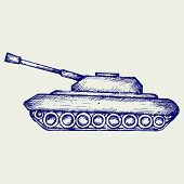 image of battle  - Main Battle Tank - JPG