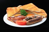 Cafe Style Full Breakfast