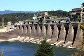 Bonneville dam north west, Oregon.