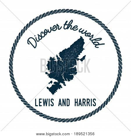 Lewis And Harris Map In