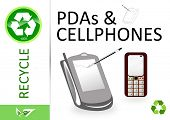 Please recycle pda and cellphone