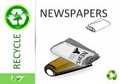 Please recycle newspapers