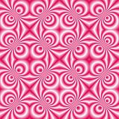 seamless tillable pink retro background with swirls, disco style