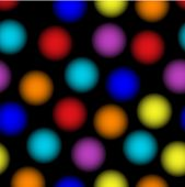 seamless tillable neon dots pattern