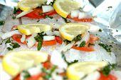 Barramundi With Lemon & Tomato