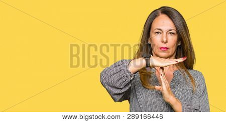 Beautiful middle age business woman