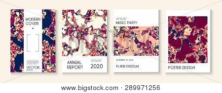 Fluid Paint Clay Texture Vector