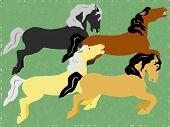 Carousel Horse Illustration