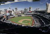 Petco Park Panoramic - home of the MLB San Diego Padres