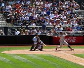 St. Louis Cardinals Albert Pujols hits another home run. Image taken versus the San Diego Padres in